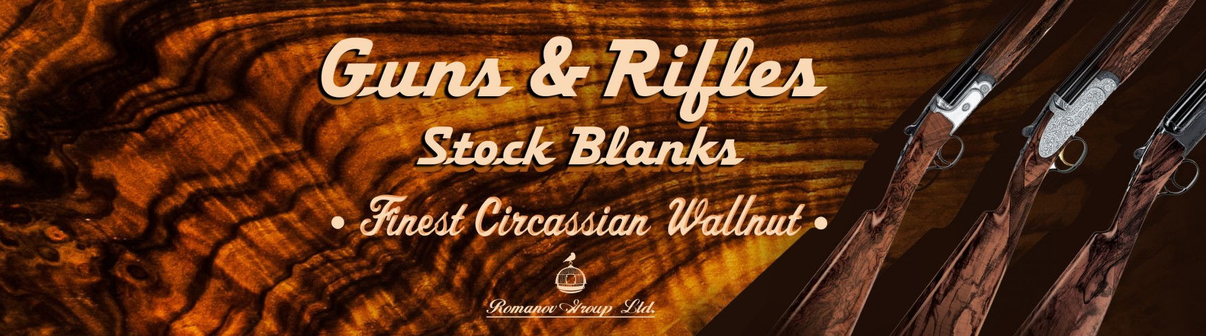 We produce and sell the best rifle and gunstock wood from circassian walnut. All kind of details, stock blanks for rifles, guns and pistol and others.